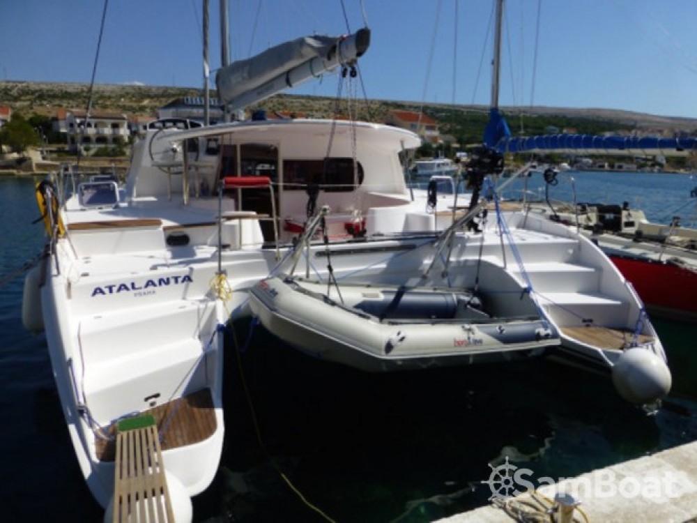 Location bateau Marina Zadar pas cher Nautitech 441