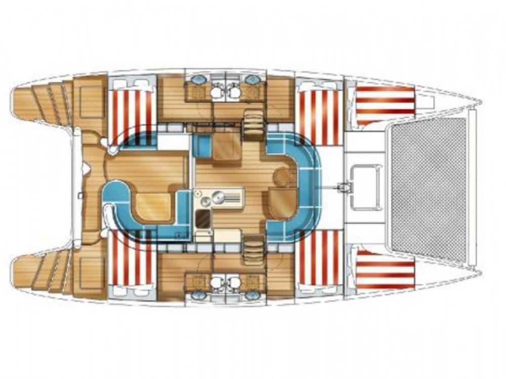 Location yacht à Marina Zadar - Nautitech Nautitech 441 sur SamBoat