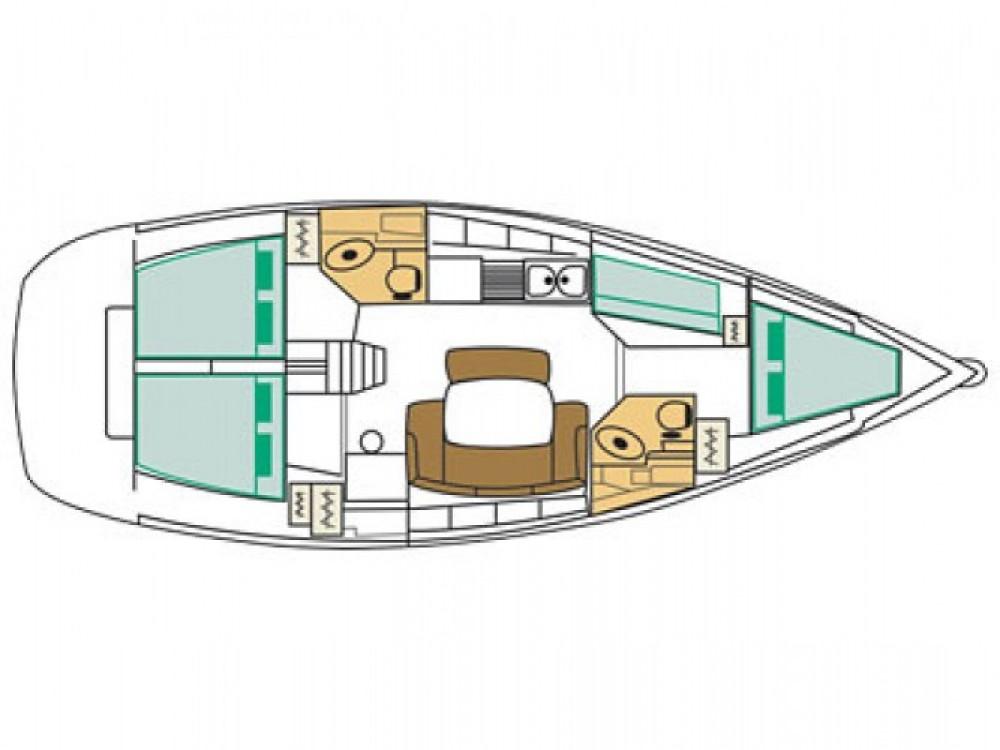 Location yacht à Gênes - Bénéteau Cyclades 43 sur SamBoat