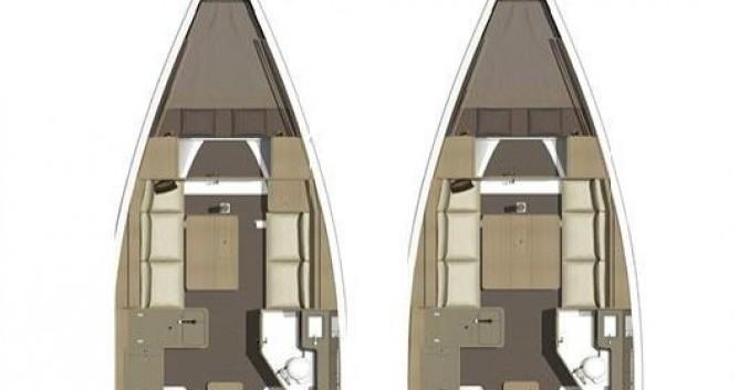 Location yacht à Biograd na Moru - Dufour Dufour 350 GRANDLARGE sur SamBoat