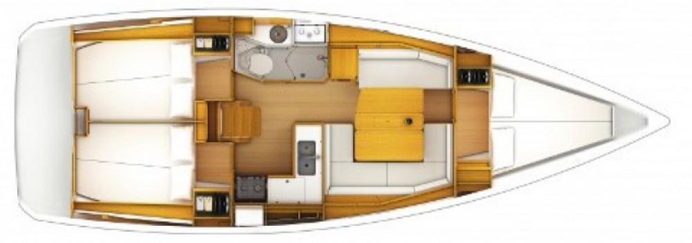 Location bateau ACI Marina Split pas cher Sun Odyssey 379