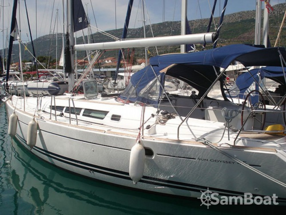 Location bateau Jeanneau Sun Odyssey 45 à Marina Kaštela sur Samboat