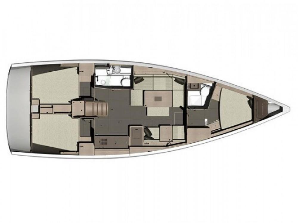 Location bateau Dufour Dufour 410 (3c-2h) à Marina Kaštela sur Samboat