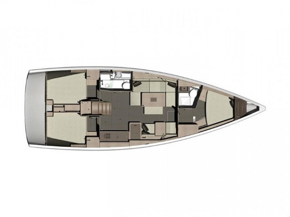 Location yacht à Marina Kaštela - Dufour Dufour 410 sur SamBoat