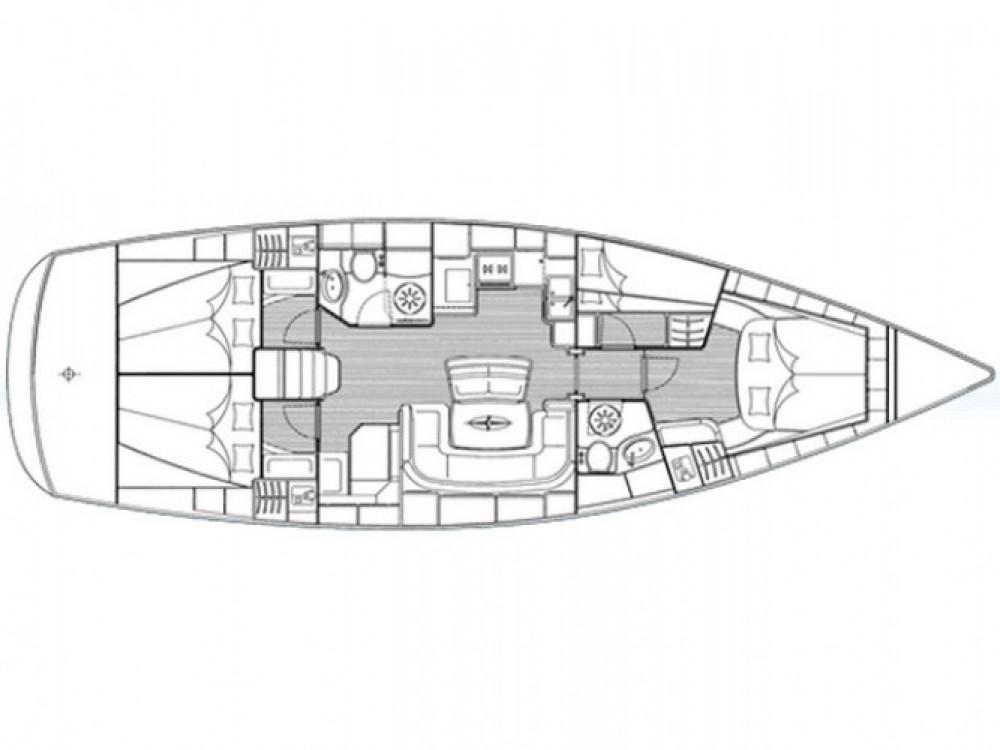 Location bateau Bavaria Bavaria 46 Cruiser à ACI Marina Trogir sur Samboat
