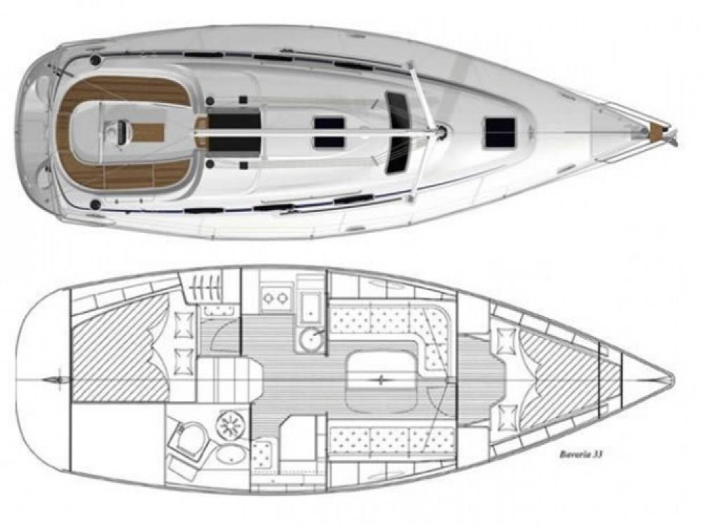 Location bateau ACI Marina Trogir pas cher Cruiser 33