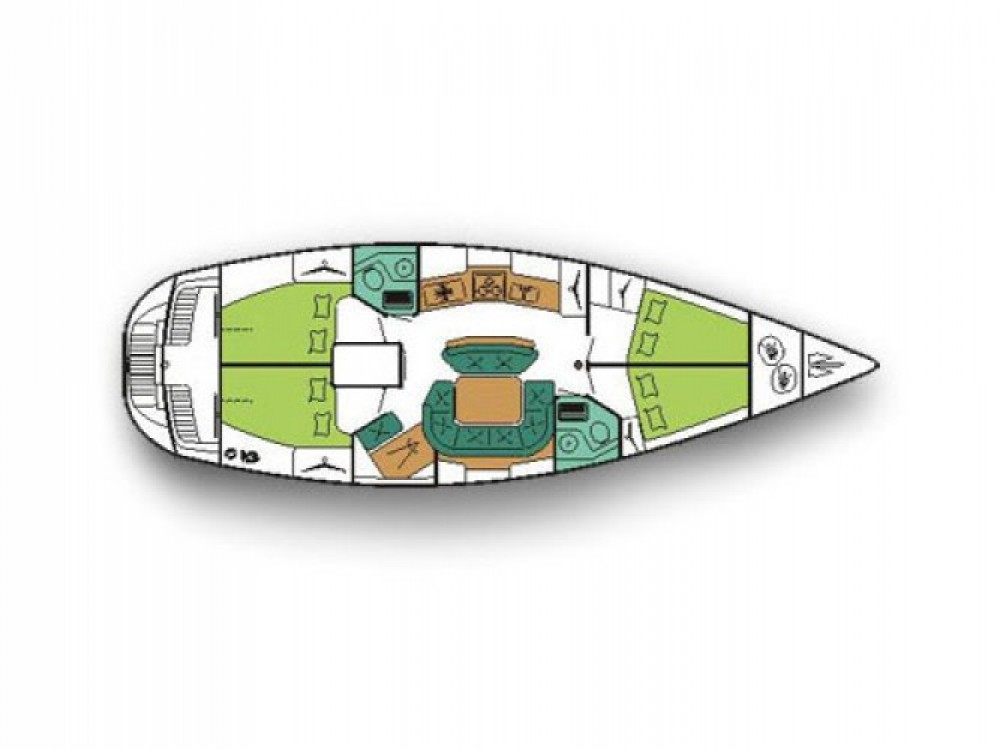 Location bateau Bar pas cher Sun Odyssey 45.1