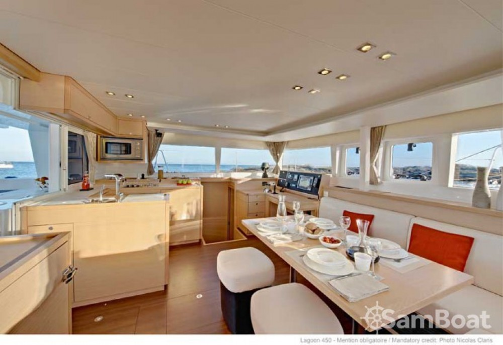 Location yacht à Capo d'Orlando Marina - Lagoon Lagoon 450 sur SamBoat