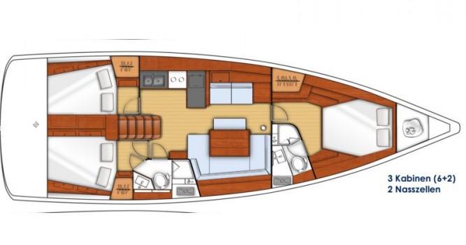 Location yacht à Tropea - Bénéteau Oceanis 45 sur SamBoat