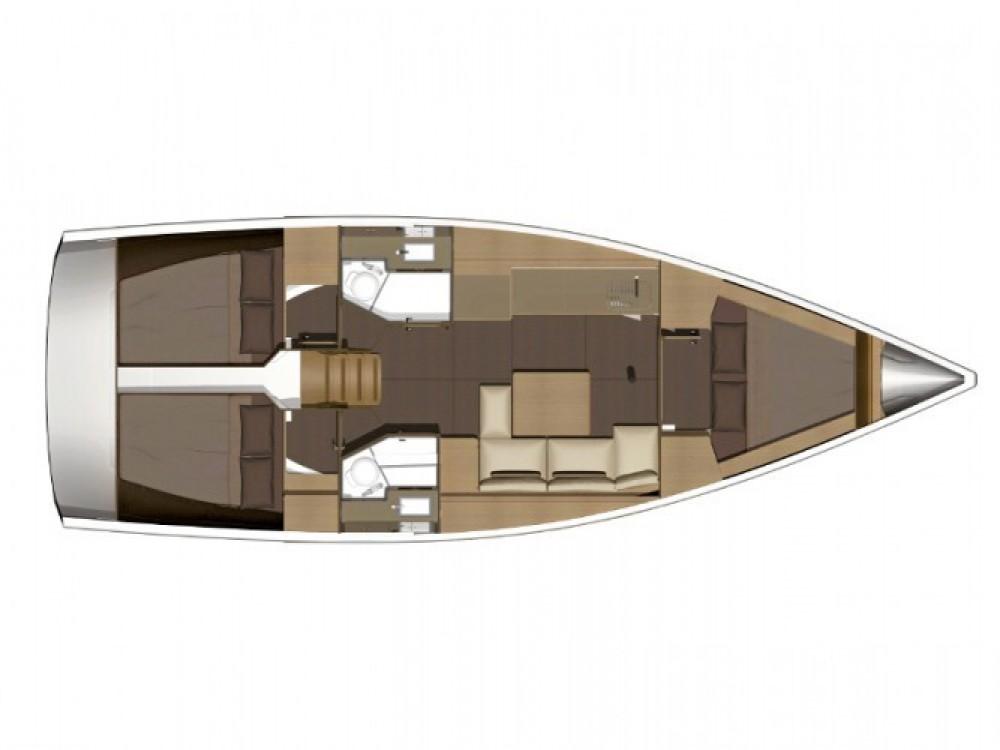 Location yacht à Marina Kaštela - Dufour Dufour 38 sur SamBoat