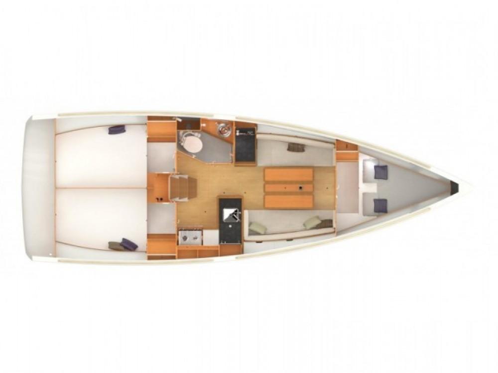 Location bateau Marina Kaštela pas cher Sun Odyssey 349