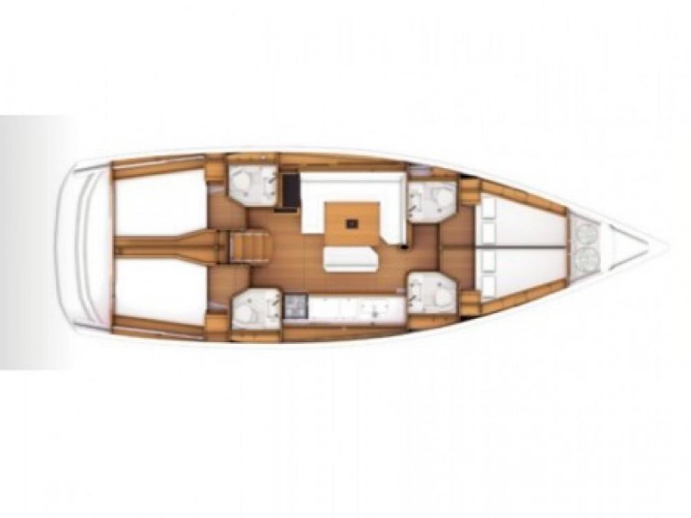 Location bateau Jeanneau Sun Odyssey 479 à Marina Kaštela sur Samboat