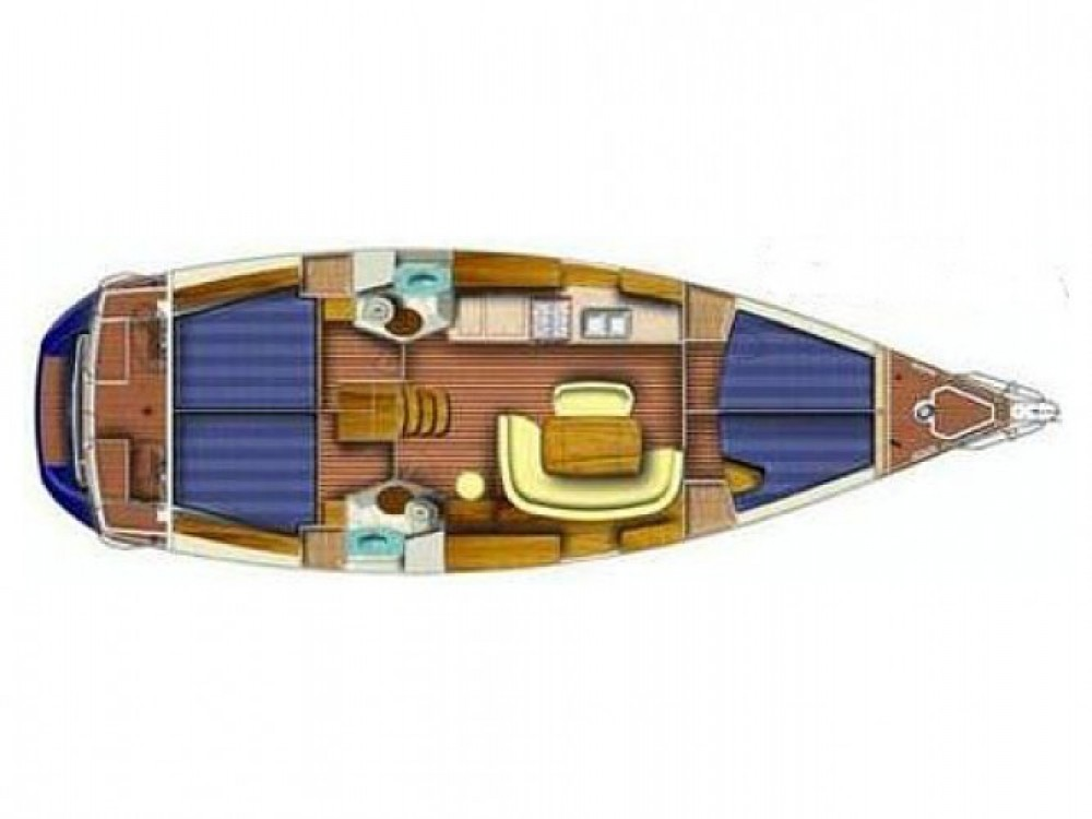 Location yacht à Marina Kaštela - Jeanneau Sun Odyssey 45 sur SamBoat
