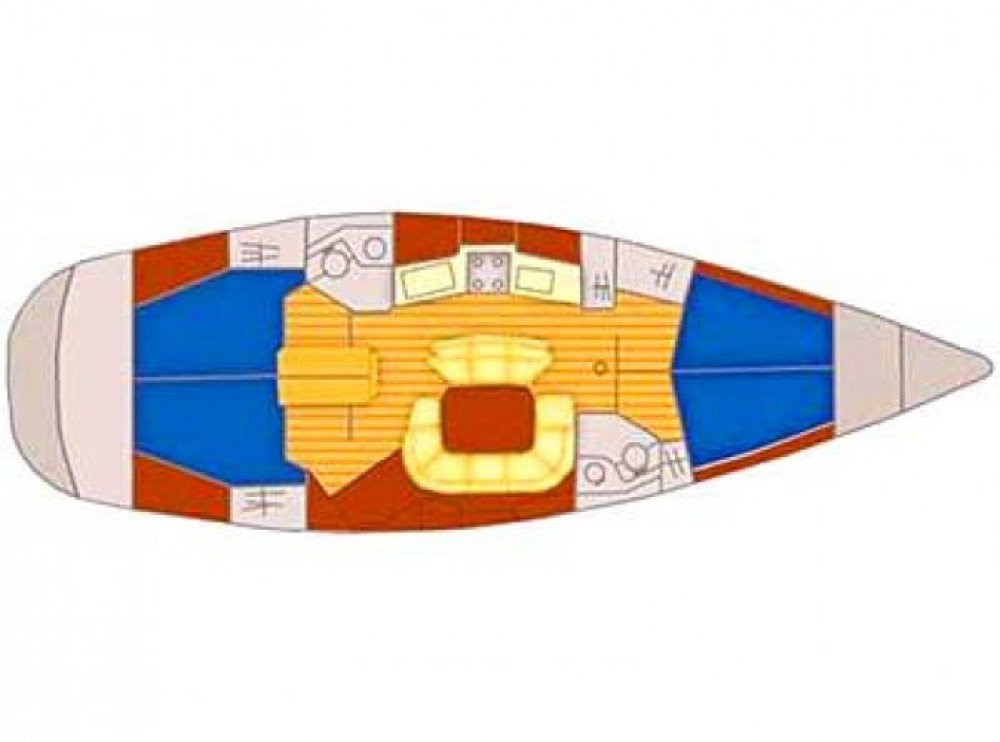 Location bateau Marina Kaštela pas cher Sun Odyssey 45.2