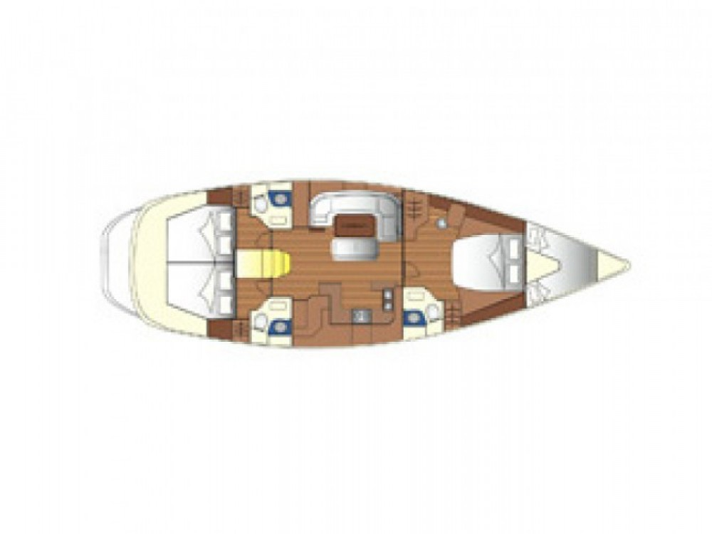 Sailboat for rent Castiglioncello at the best price