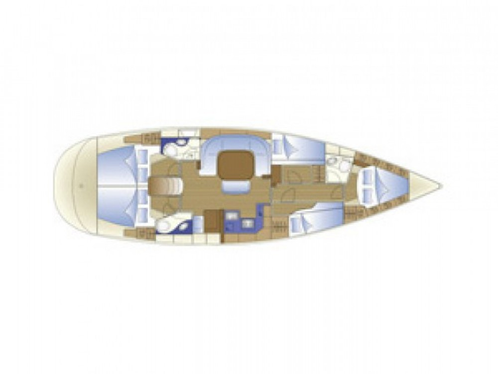 Rental yacht Castiglioncello - Bavaria Bavaria 49 on SamBoat