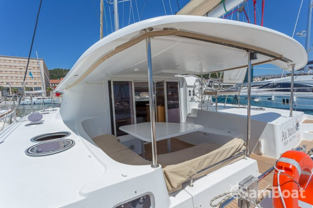 Location Catamaran à ACI Marina Split - Fountaine Pajot Orana 44
