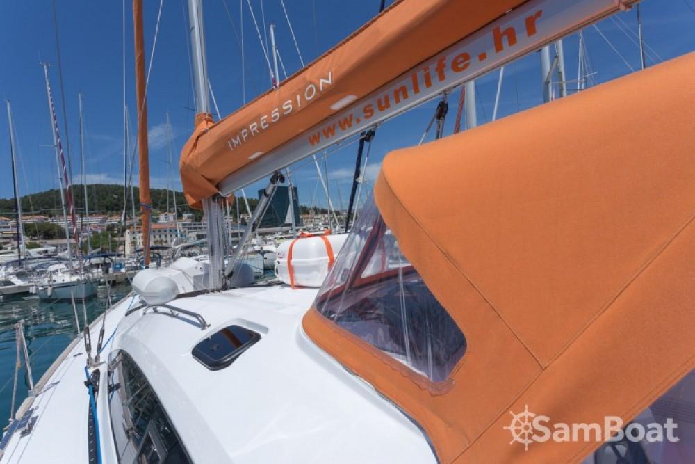 Location bateau ACI Marina Split pas cher Elan 45