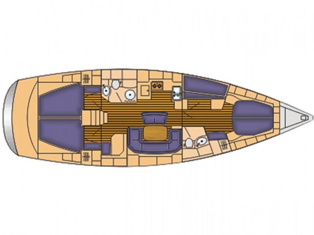 Location bateau ACI Marina Split pas cher Cruiser 46