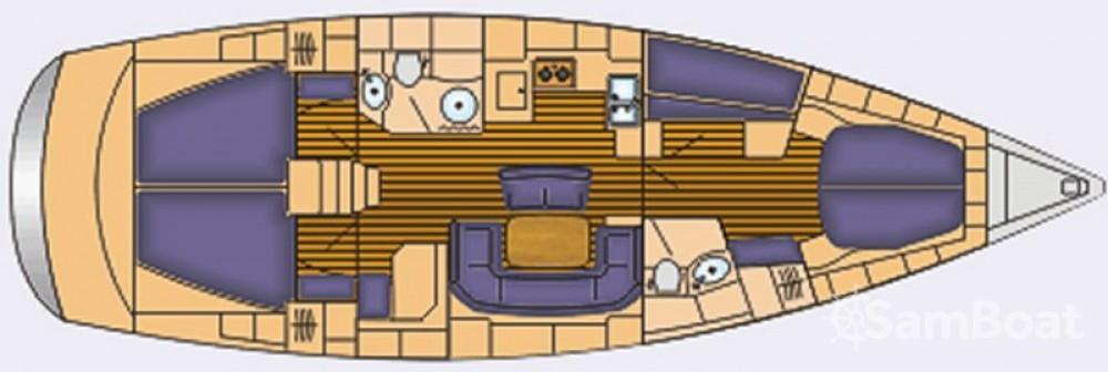 Location bateau Bavaria Cruiser 46 à ACI Marina Split sur Samboat
