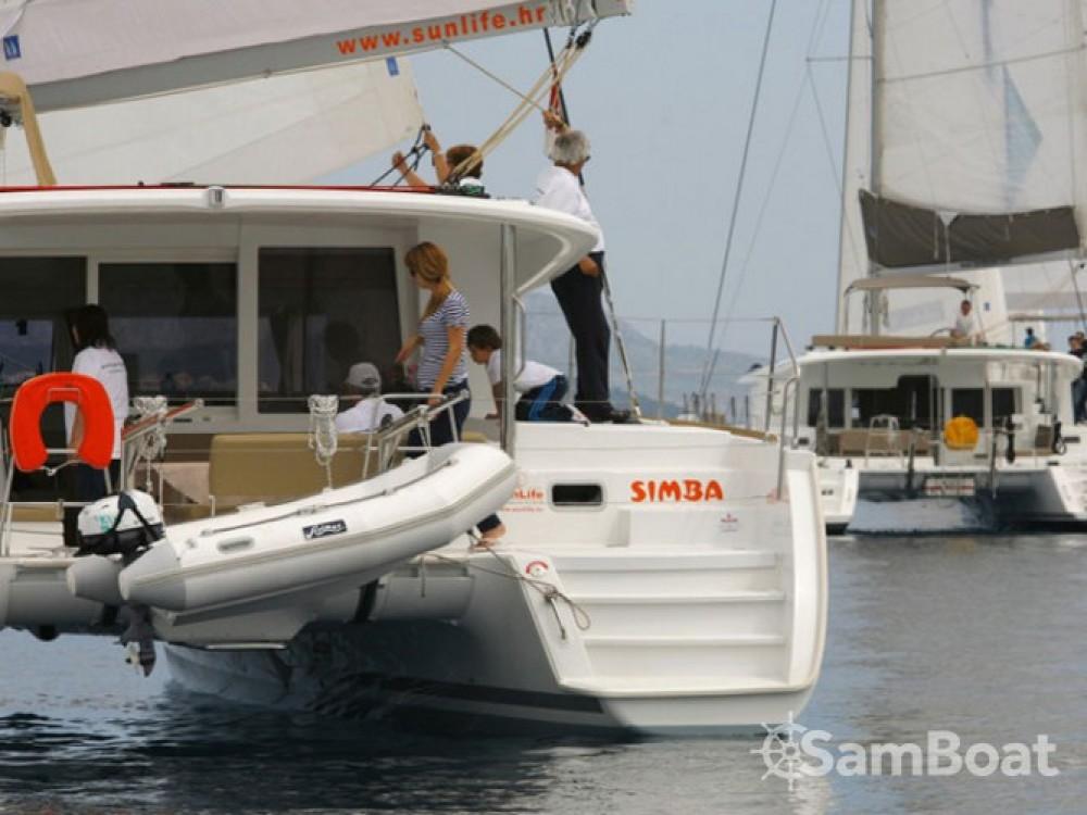 Location bateau Lagoon Lagoon 400 à ACI Marina Split sur Samboat