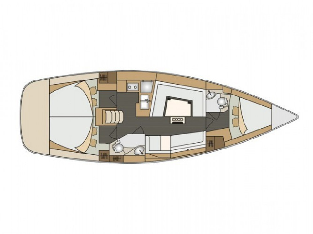 Location bateau ACI Marina Split pas cher Elan 40 Impression
