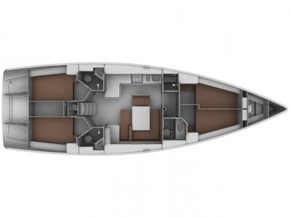 Location bateau Sukošan pas cher Bavaria 45