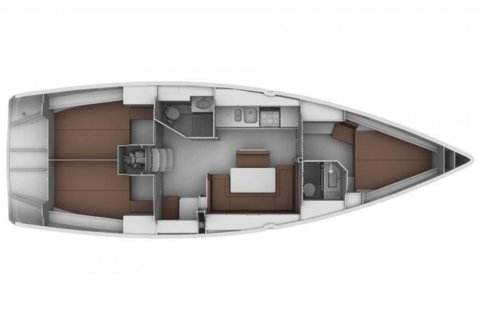 Location bateau Sukošan pas cher Bavaria 40