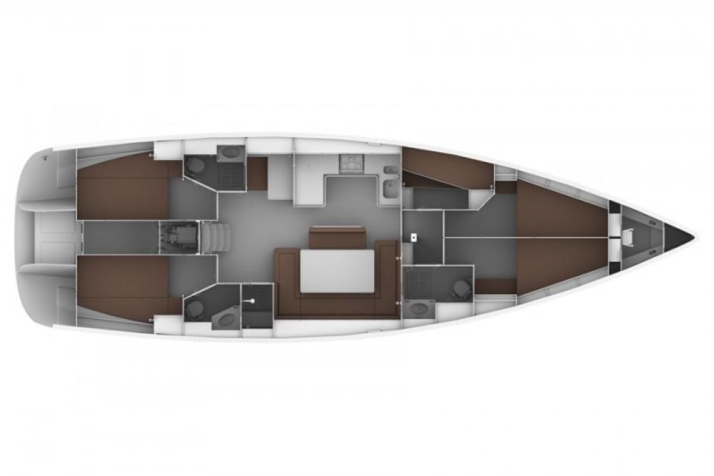 Location bateau Bavaria Bavaria 50 BT '12 à Sukošan sur Samboat