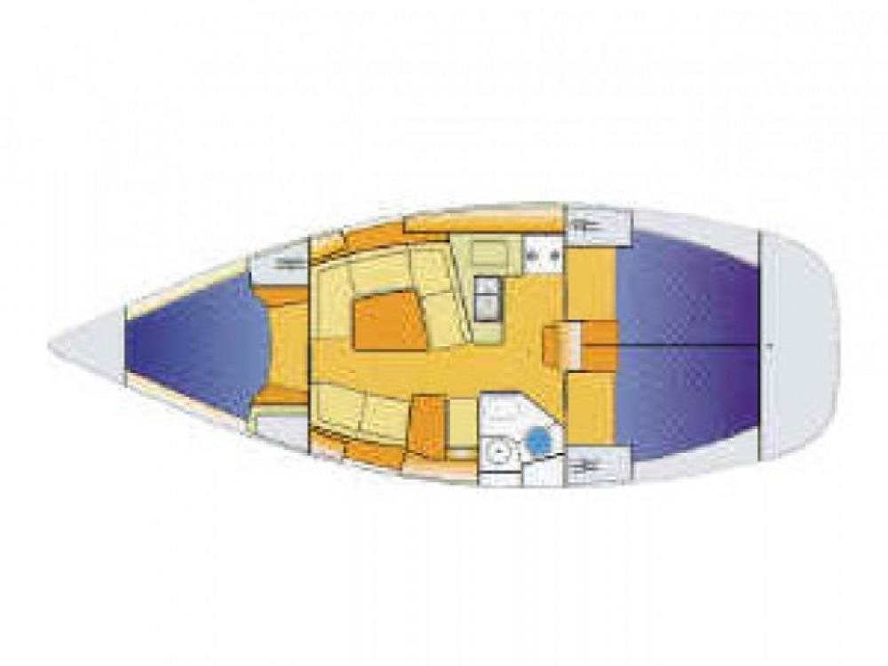Location bateau Jeanneau Sun Odyssey 37 à ACI marina Vodice sur Samboat