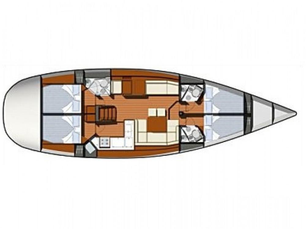 Jeanneau Sun Odyssey 50 DS entre particuliers et professionnel à ACI marina Vodice
