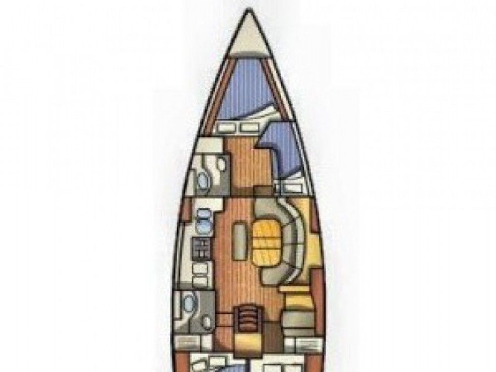 Louez un Bénéteau Oceanis 411 à ACI marina Vodice