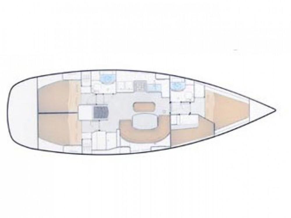 Location bateau ACI marina Vodice pas cher Oceanis 411
