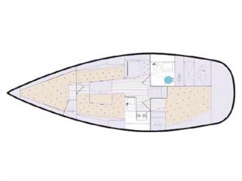 Location bateau Elan Elan 333 à ACI marina Vodice sur Samboat