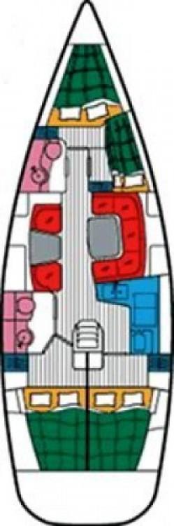 Louez un Jeanneau Sun Odyssey 43 DS à ACI marina Vodice
