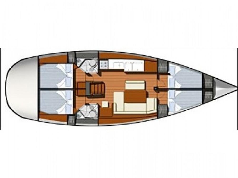 Location bateau ACI marina Vodice pas cher Sun Odyssey 44i