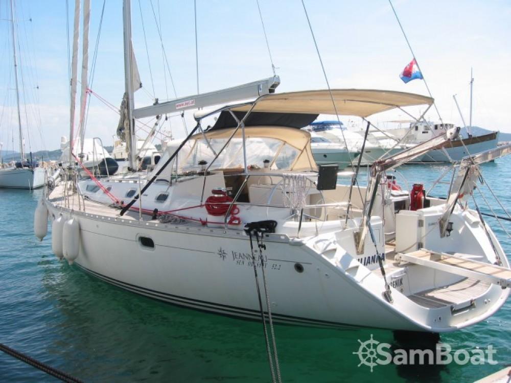 Location bateau Jeanneau Sun Odyssey 52.2 à ACI marina Vodice sur Samboat
