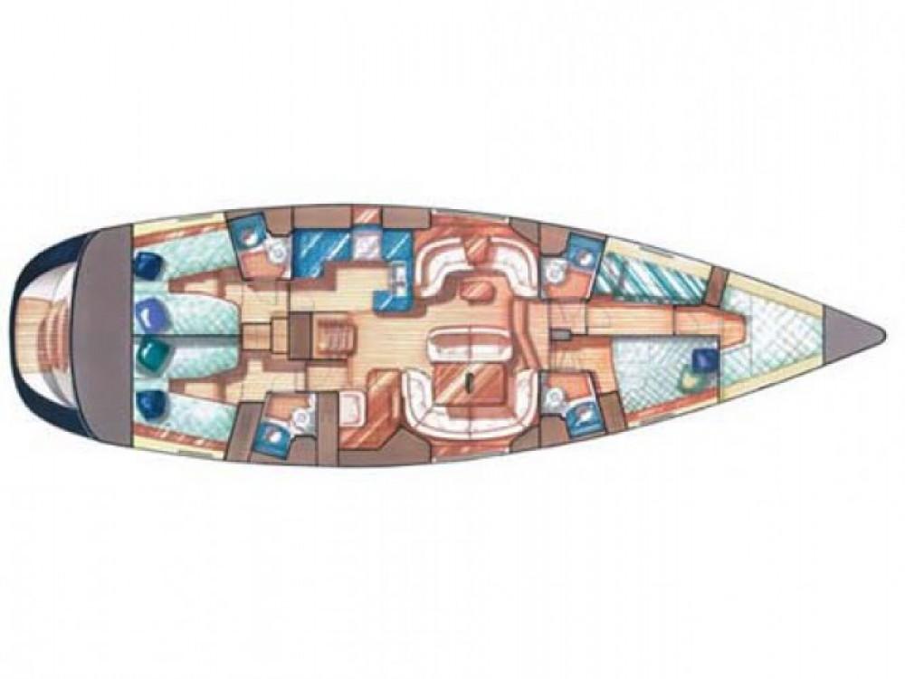 Location bateau ACI marina Vodice pas cher Sun Odyssey 54 DS