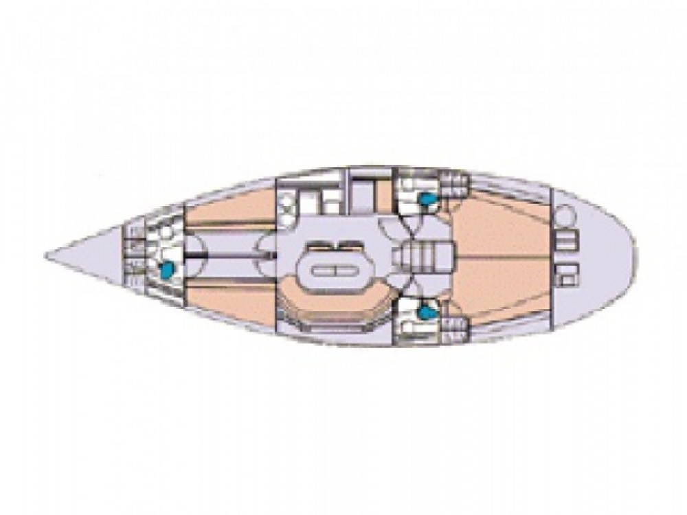 Location bateau ACI marina Vodice pas cher Elan 431