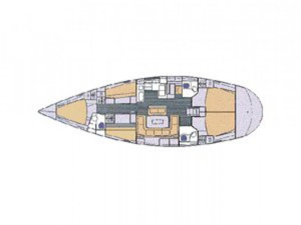 Location bateau Bavaria Bavaria 50 à ACI marina Vodice sur Samboat