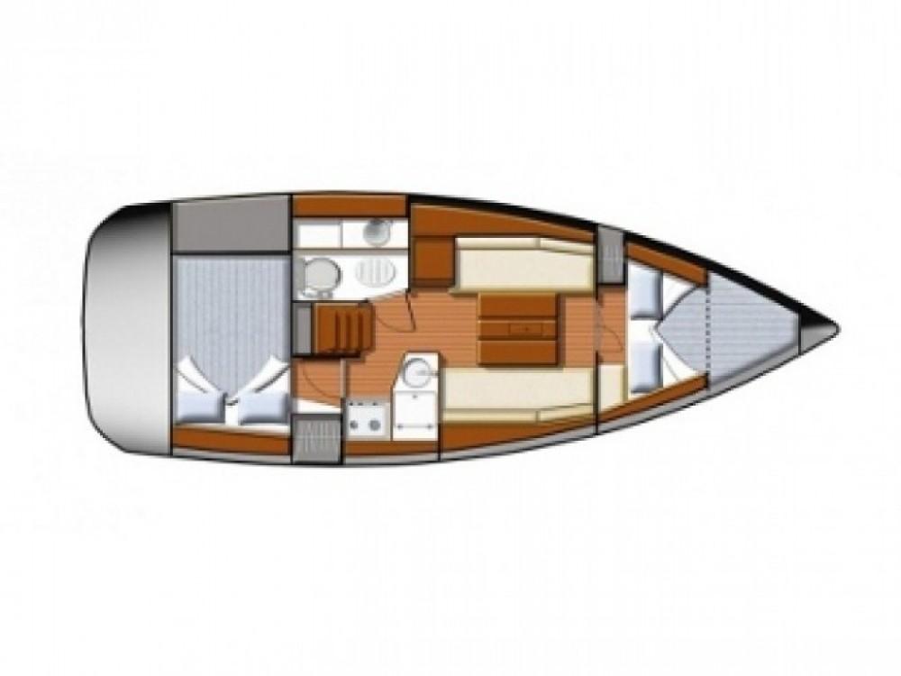 Location bateau Jeanneau Sun Odyssey 30i à ACI marina Vodice sur Samboat