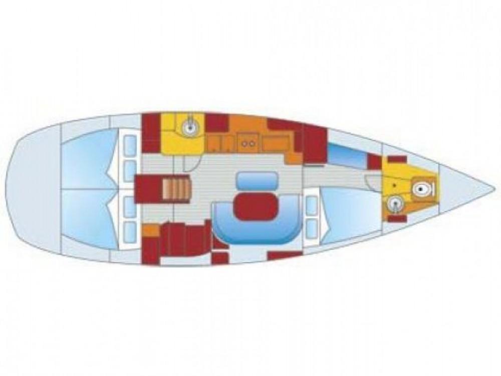 Louez un Bénéteau Oceanis 411 à Leucade