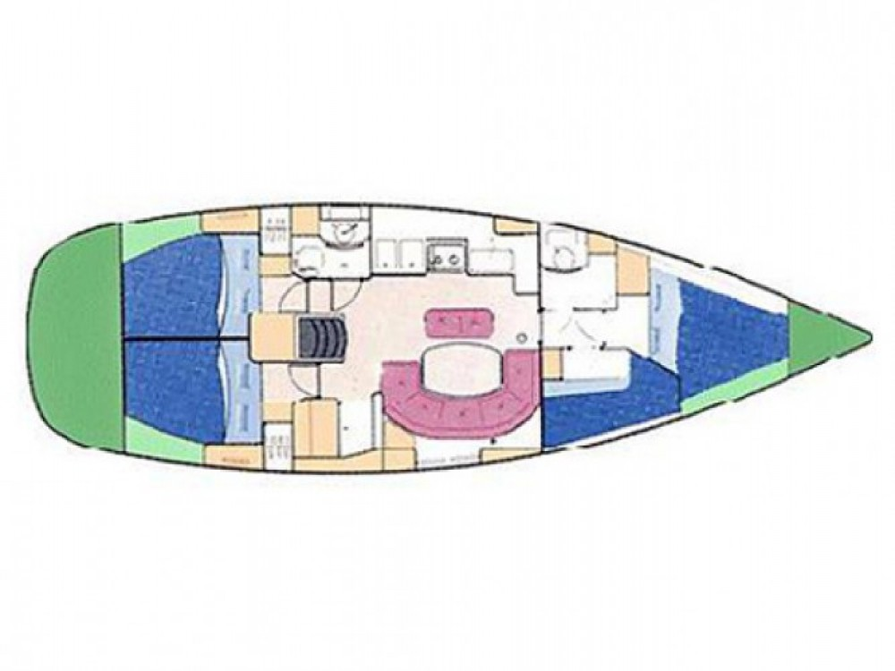 Louez un Bénéteau Oceanis 411 à Palma de Majorque