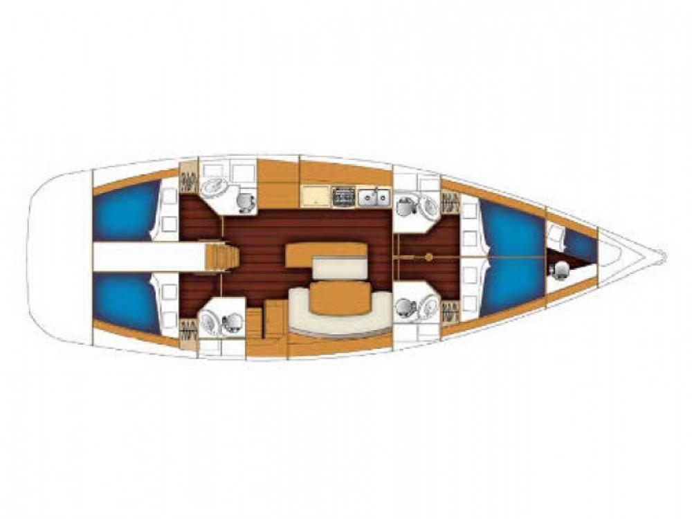 Location bateau Pula pas cher Cyclades 50.4
