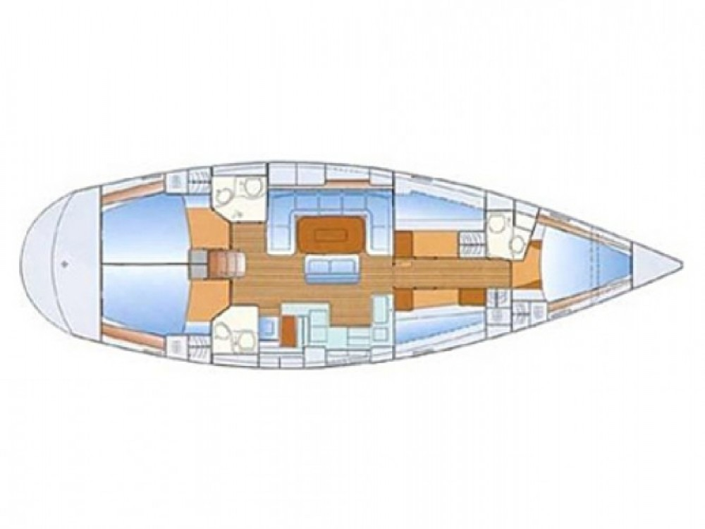 Bavaria Bavaria 50 Cruiser entre particuliers et professionnel à Marina Naviera Balear