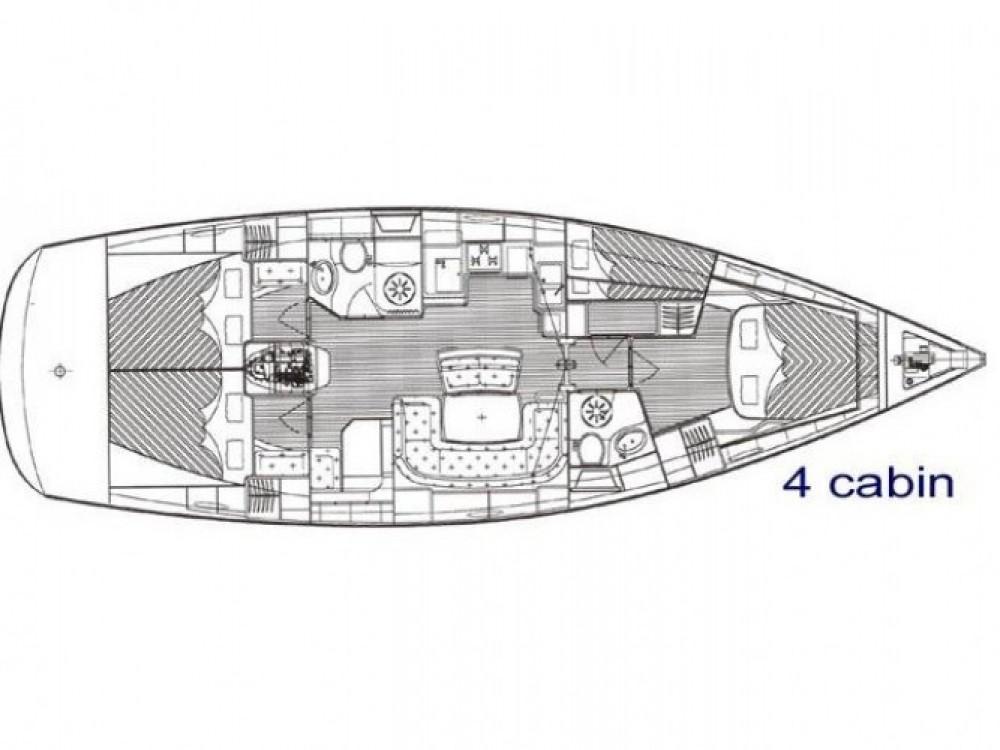 Location yacht à Marina Kornati - Bavaria Bavaria 46 Cruiser sur SamBoat