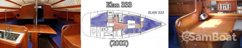 Louez un Elan Elan 333 à Marina Kornati