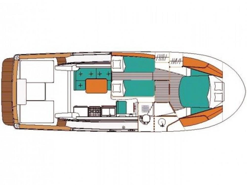 Location bateau Marina Zadar pas cher Antares 10.80