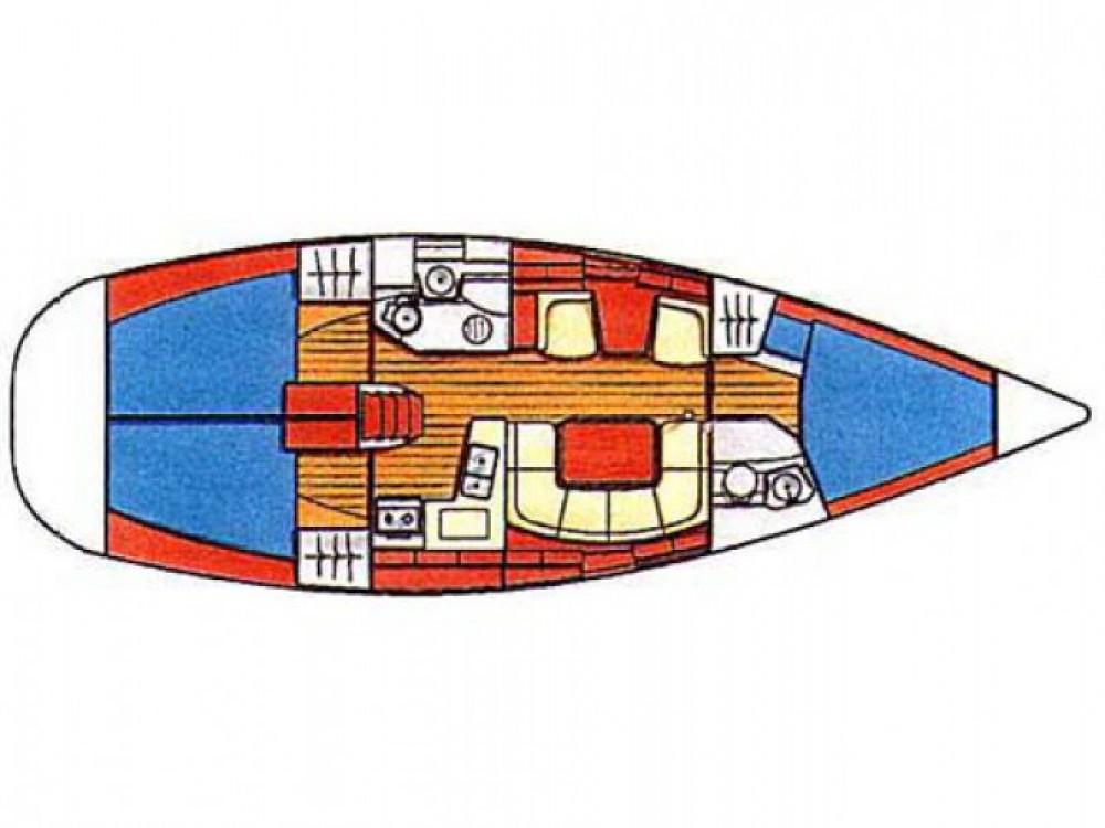 Location bateau Marina Kornati pas cher Sun Odyssey 40