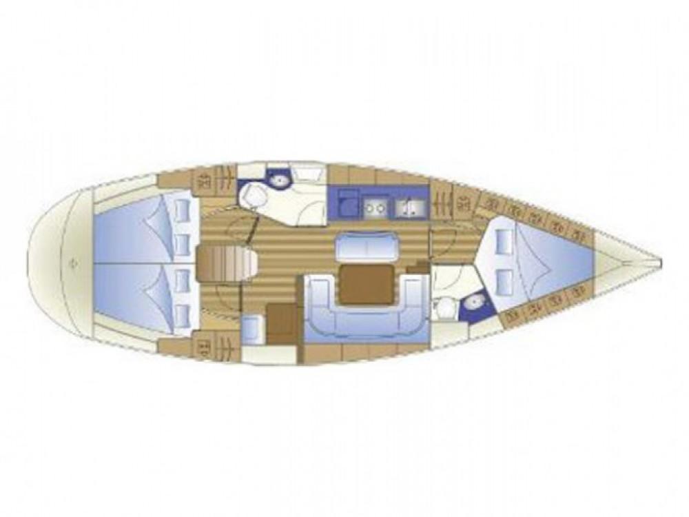 Jeanneau Sun Odyssey 40 entre particuliers et professionnel à Marina Kornati